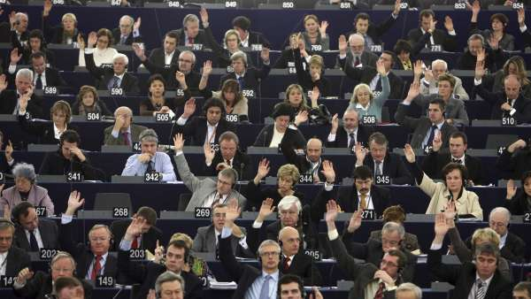 Votación en la Eurocámara