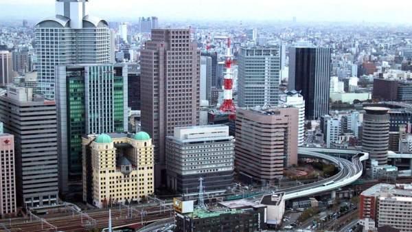 Panorámica de Osaka, en Japón