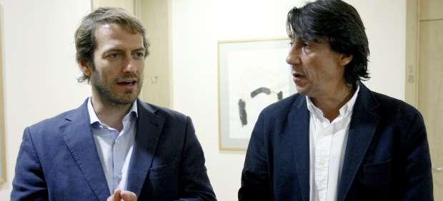 César Cabo y Javier Zanón