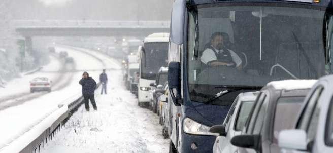 Problemas de tráfico en el Reino Unido