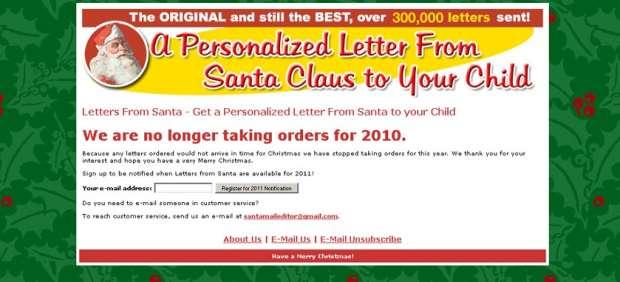 Tienes un email de Santa Claus
