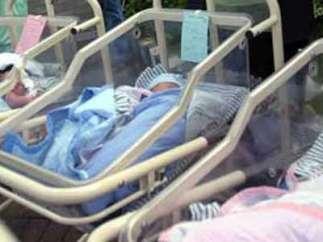 Bebés recien nacidos.