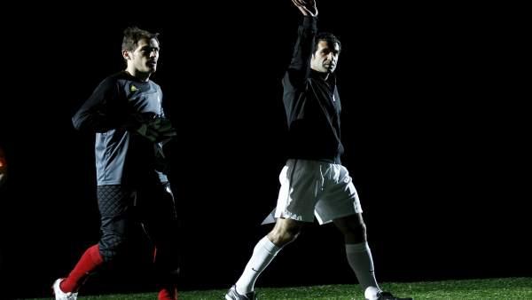 Casillas y Figo