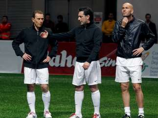 Butragueño, Futre y Zidane