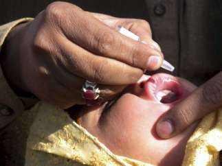 Contra la polio