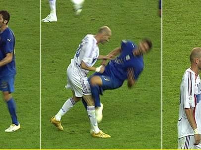 Cabezazo de Zidane