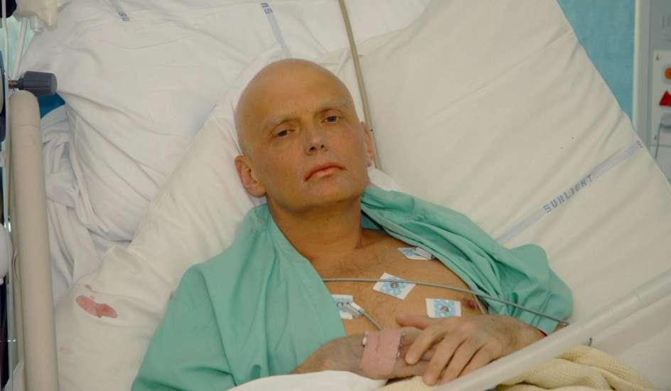 Litvinenko, envenenado