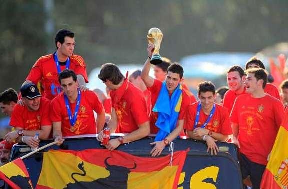 España, campeona en Sudáfrica