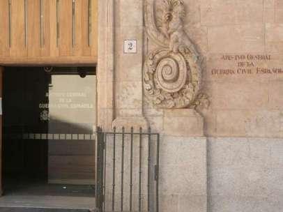Fachada del Archivo General de la Guerra Civil en Salamanca