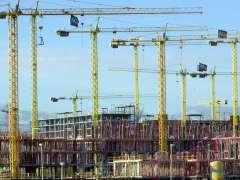 La actividad de la construcción crece un 6% en un año
