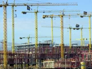 Viviendas en construcci�n