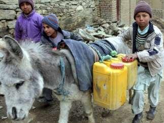 Sin agua potable en Afganistán