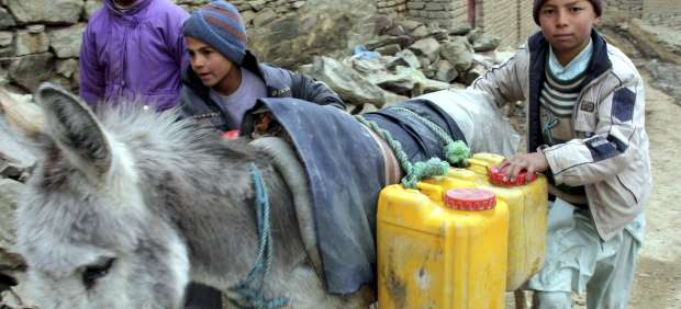 Sin agua potable en Afganist�n