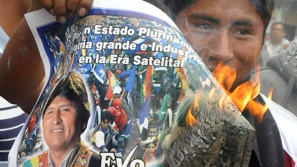 Fin al 'gasolinazo' en Bolivia