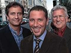 Manolo Lama, paco González y Pepe Domingo Castaño