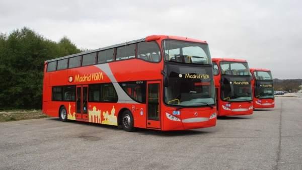Autobuses turísticos de Madrid