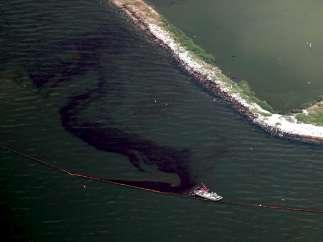Vertido del Golfo de México