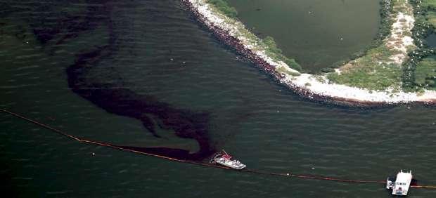 Vertido del Golfo de M�xico
