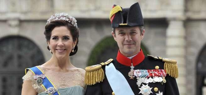 Federico de Dinamarca, y su mujer, la princesa Mary