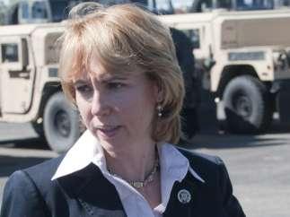 La congresista Gabrielle Giffords