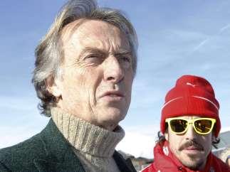 Montezemolo y Fernando Alonso