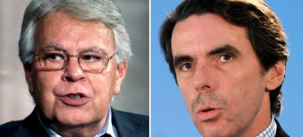 Felipe González y Aznar