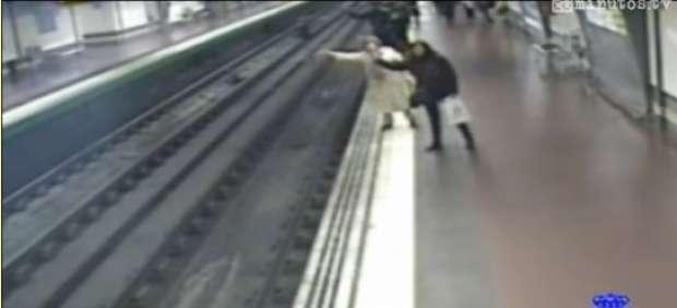 El vídeo del policía héroe del Metro de Madrid, de los más vistos en YouTube