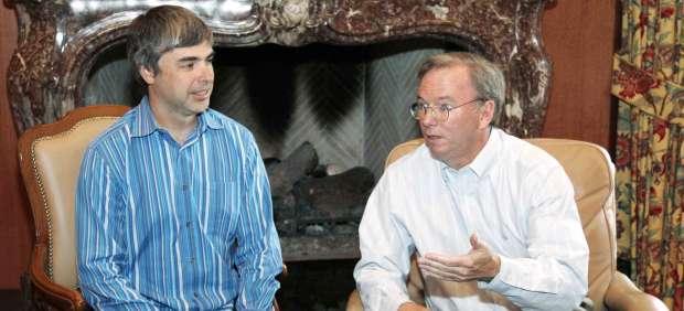 Google anuncia que Larry Page sustituirá a Eric Scmidt en la dirección a partir de abril