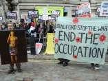 Protestas por las declaraciones de Tony Blair
