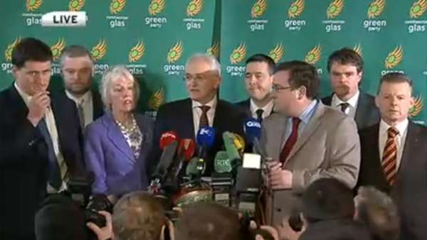 El Partido Verde de Irlanda