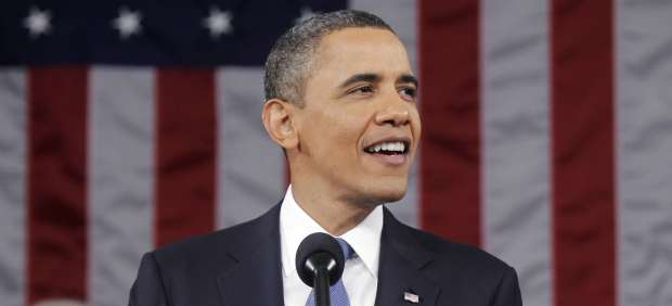Barack Obama en el discurso del Estado de la Unión