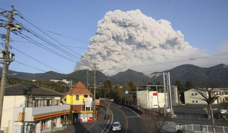 Ruge el volcán
