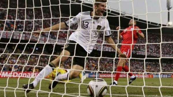 Inglaterra-Alemania, en el Mundial