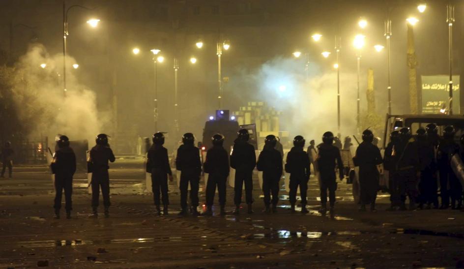 Disturbios en Suez