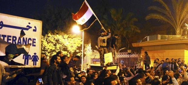 Protestas nocturnas
