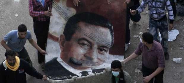 Protestas en Egipto contra Mubarak