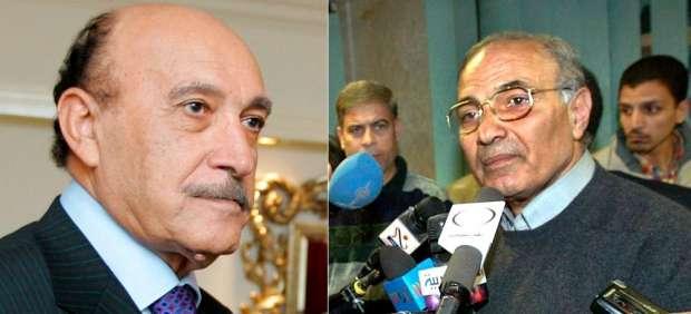 Omar Suleimán y Ahmed Shafiq