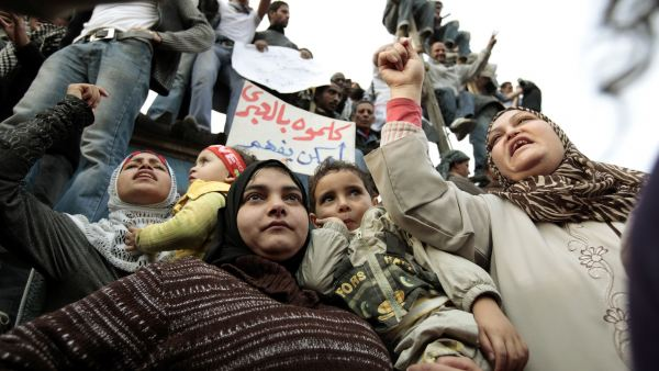 Mujeres en la protesta