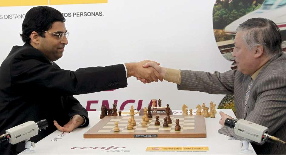 Anand contra Karpov, duelo de maestros a 300 km/h - 20minutos.es