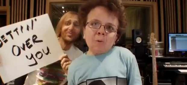 David Guetta y Keenan Cahill