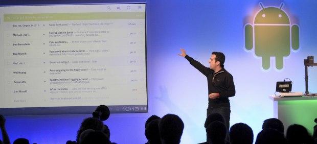 Google presenta su nueva versión del sistema operativo Android para tabletas