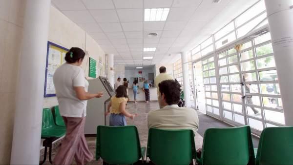 Pacientes en un ambulatorio