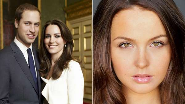 Camilla Luddington, Kate Middleton y el Príncipe Guillermo
