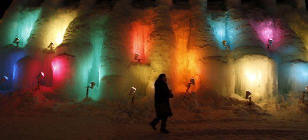Nieve de colores