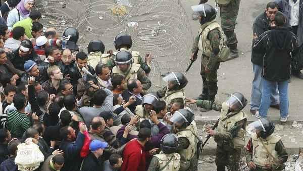 Barricadas en El Cairo