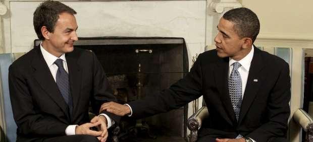 Reuni�n Zapatero - Obama