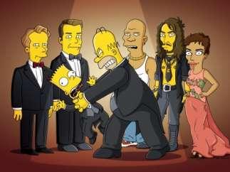 Halle Berry, en 'Los Simpsons'