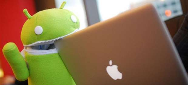 Android supera a iOS en descarga de aplicaciones