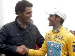 Indurain y Contador