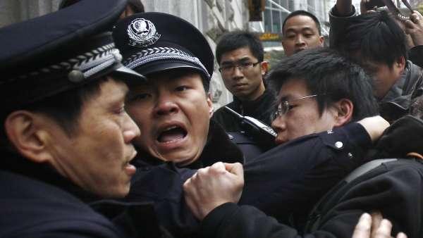Protestas en Shanghái